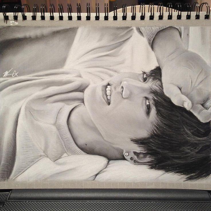 """""""전정국 - Jeon Jungkook  Woo finally finished!  #전정국 #방탄소년단 #jeonjungkook…"""