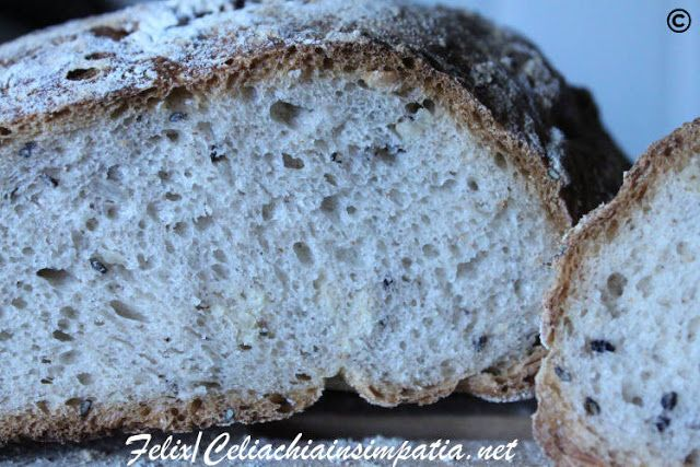 Mix di Farine Dietoterapeutiche per Pane e Focacce senza glutine di Felix | Un cuore di farina senza glutine