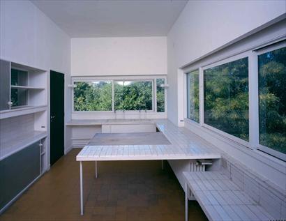 Fondation le corbusier buildings villa savoye le for La cuisine x le creuset