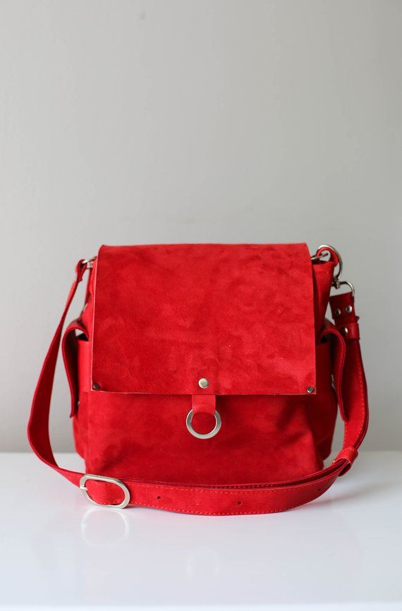 accfbe0578 Red Messenger Bag