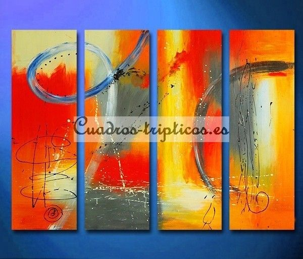 Awesome colores cuadros abstractos
