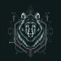 Wolf T-shirt template