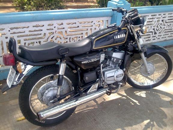 Rx 3yrs Back My Yamaha Rx 100 Yamaha Rx100 Bike