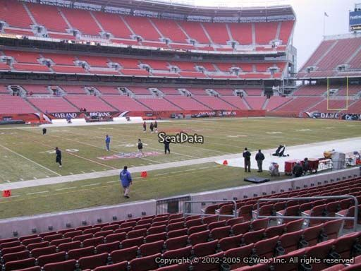#tickets 4 Cleveland Browns tickets vs NY JETS 10/8 sec 104 only 2 rows from the field! please retweet