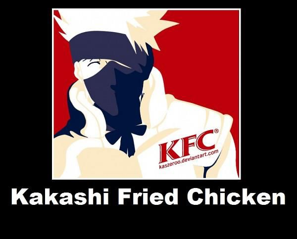 Kakashi Fried Chicken | Naruto | Pinterest | Kakashi, Lol ...