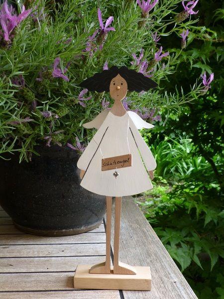 Engel -  Miss Bella von mw-holzkunst auf DaWanda.com