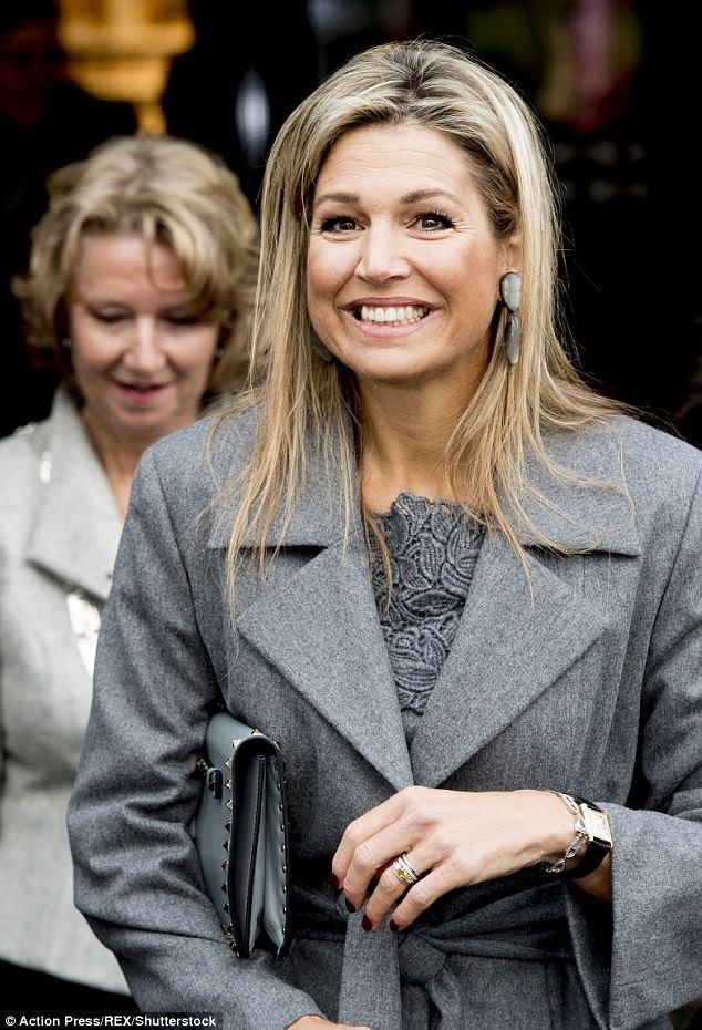 Queen Máxima attended the presentation of the annual report of the Dutch Committee for Entrepreneurship and Finance in Voorschoten