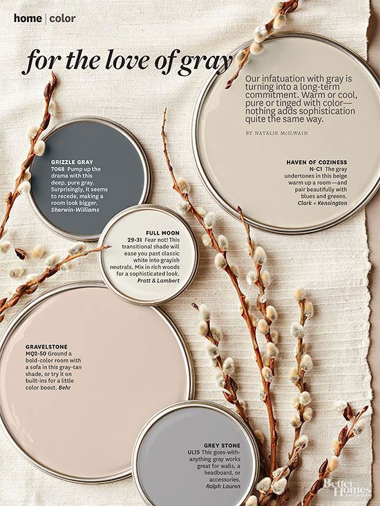 We can't get enough of this trendy-turned-mainstay neutral. Get an iPad subscription and try out different wall colors.