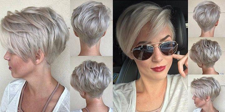 Kurzhaarfrisuren 2018 Damen Hier sind die neuen kurzen Frisur-Bilder, die voraussichtlich im Jahr 2018 werden. Im Jahr 2018 wird die schönste Frisur Pixie Frisur. Pixie Frisuren sind die am häufigsten getan Haarschnitt in Deutschland. Friseursalons, die kurze Frisuren für Damen machen beginnen, um