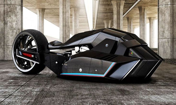 BMW Titan Motorcycle Concept Looks Like Batman's Next Ride