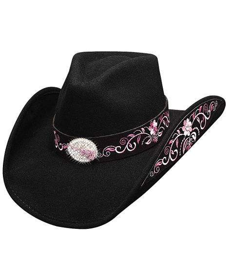 Bullhide Rockin' To The Beat Wool Cowgirl Hat