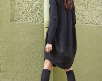 Nouvelle Collection Oversize noir vrac asymétrique Sexy Top
