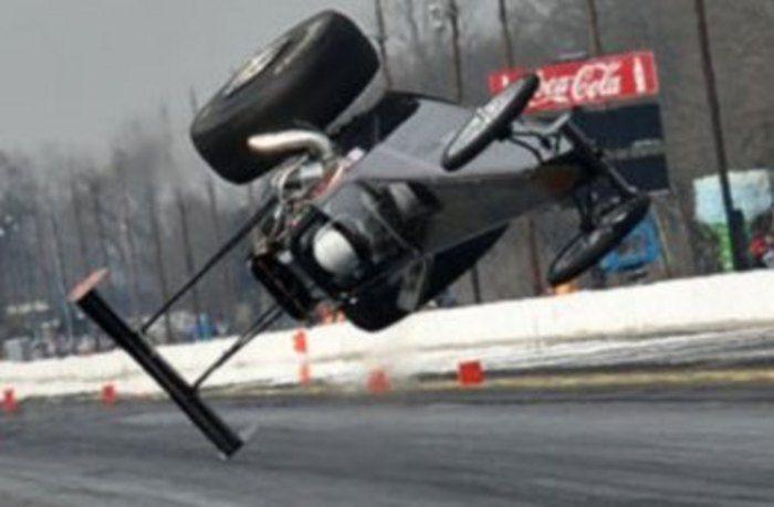 Dragster Crashes  Alan Jones dragster crash  Race Crashes