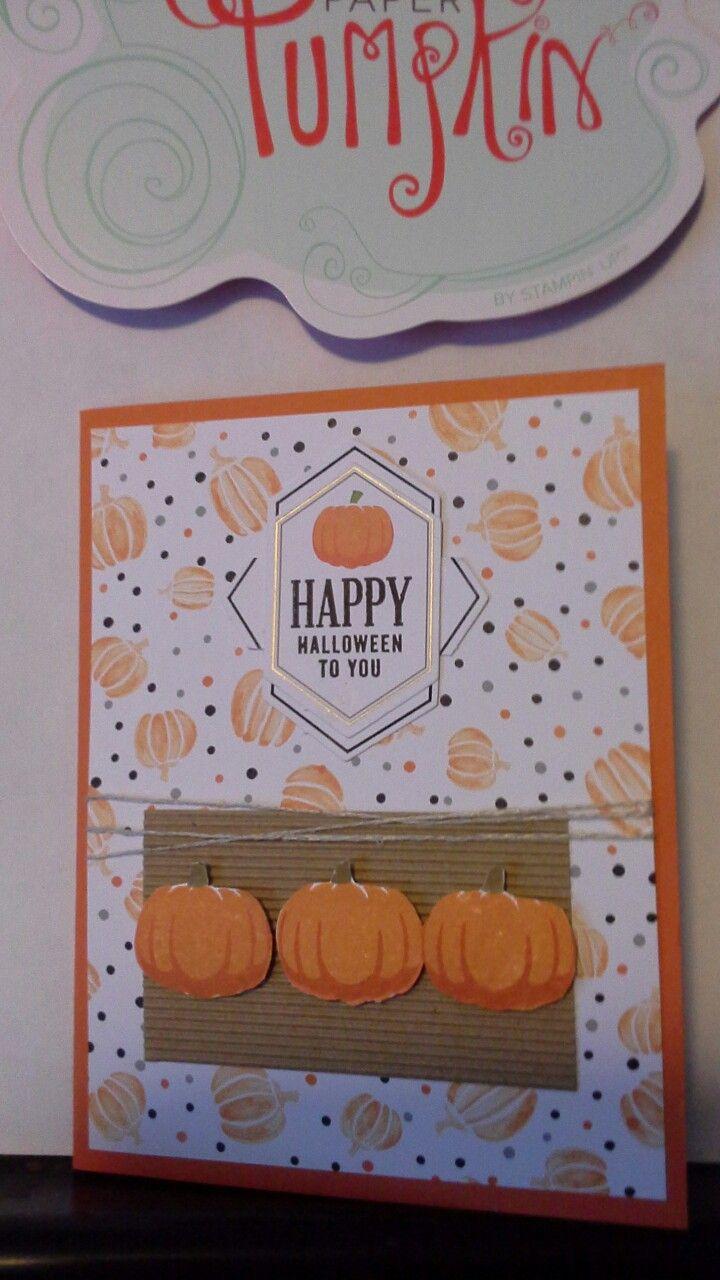 September 2016 alternative Paper Pumpkin #5