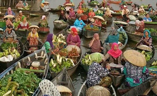Pasar Terapung #floatingmarket