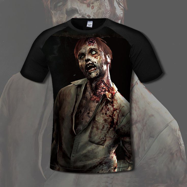 Resident Evil Zombie T-Shirt  Tell us why you love this for a chance to win a free one!