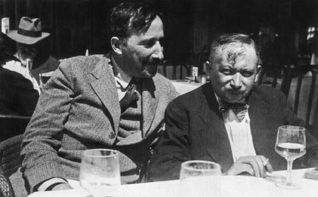 Stefan Zweig e Joseph Roth, Ostenda (Belgio) 1936.