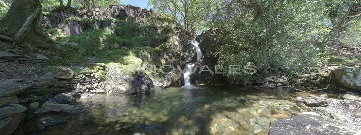 Merlin's Waterfall, Dinas Emrys, Wales