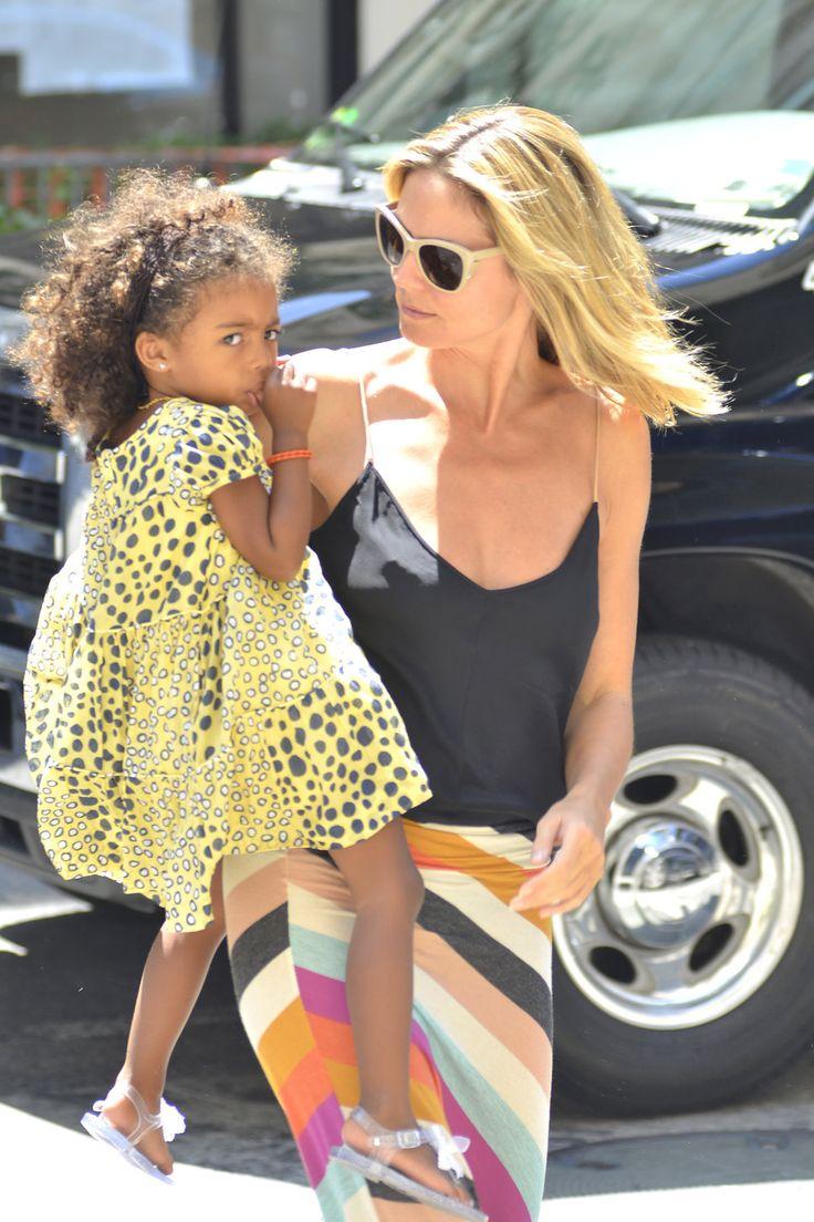 Heidi Klum & daughter Lou