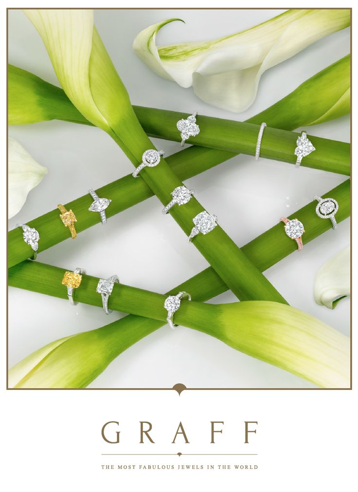 Graff Diamonds offers the most sublime Collection of Bridal rings in the world - do you have a favourite? #graffdiamonds #graff #bridal #engagement #wedding