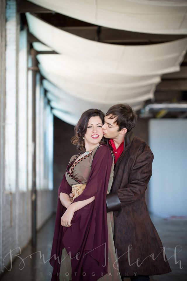 Firefly themed engagement shoot by Bonnie. Costumes by Lorigami.com #firefly #cosplay #genderbent #serenity #inara #mal