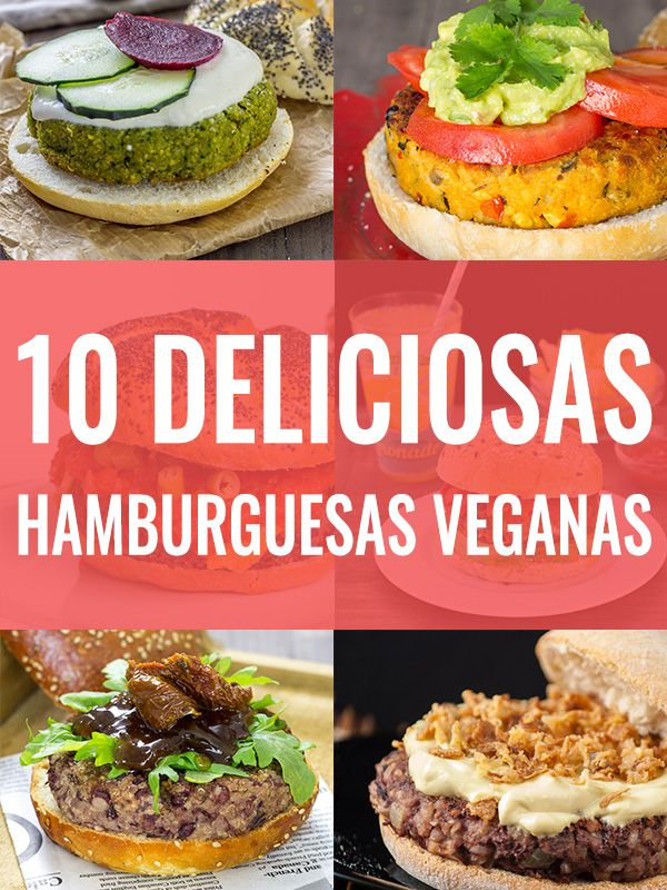 Hamburgesas Veganas                                                                                                                                                                                 Más
