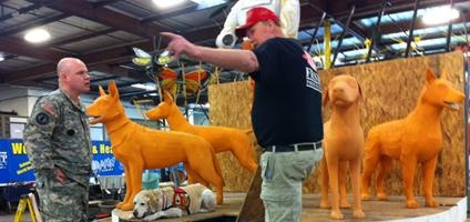 Rose Parade Float Honors Military Working Dogs   Dogster