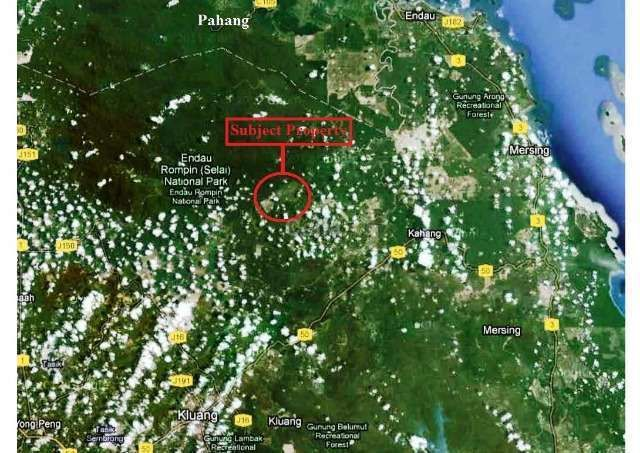 Agricultural Land for Sale in Kahang for RM 203,426,000 by Celia Tan