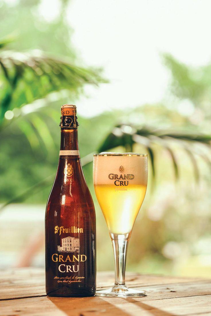 """This St Feuillien Grand Cru, was once referred to as ""a true champagne of beers"". Cheers! "" - Belgian Beer and Food #beer #belgian"