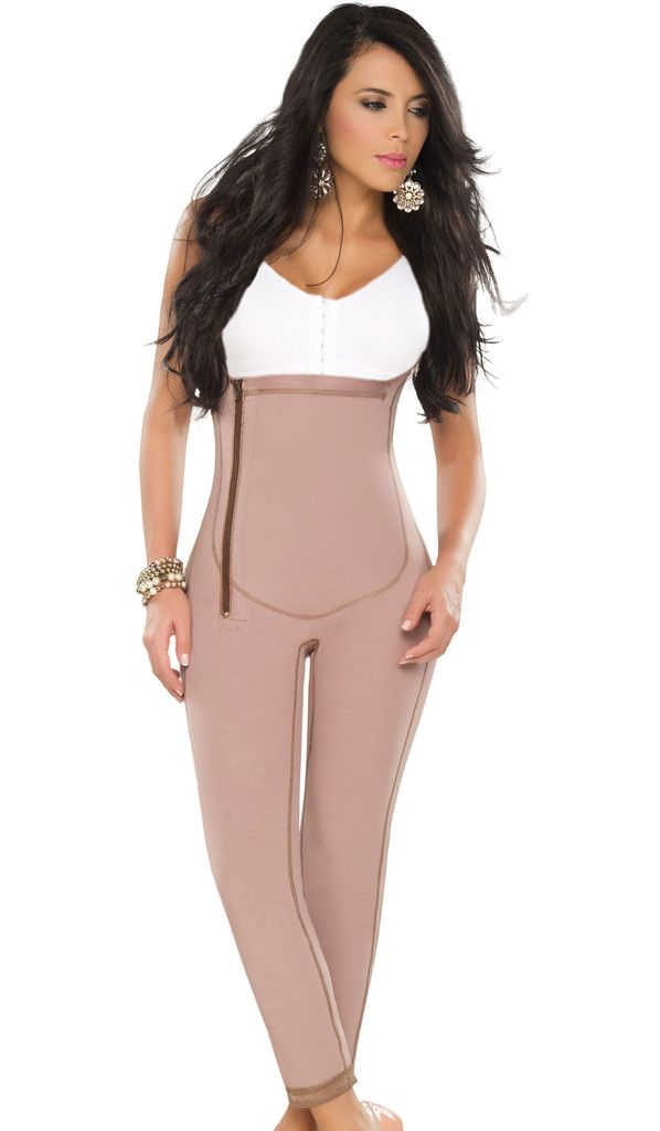 Open Bust Medicated 11020 Girdle/Bodysuit with Surgical Control and En – Fajas Salome MD $ 140.00