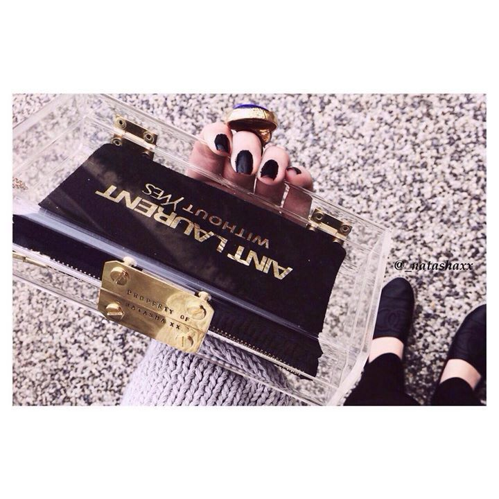 Ain't Laurent without Yves clutch