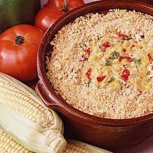 Favorite Corn Pudding Recipe -This recipe has been in our family for over 40 years, and was handed down to me by my aunt. I have tried many other recipes for corn pudding, but I always come back to this one. We enjoy this dish all through the year for any celebration. Whenever I take it to a get-together, there is never a bit left over!