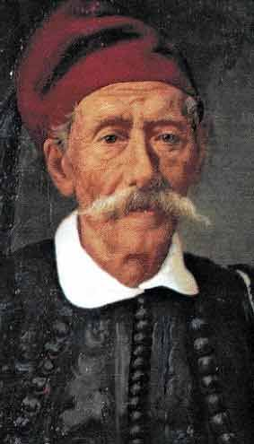 Kanellos Deligiannis was a Greek magnate from the Morea and the son of Ioannis Deligiannis. He was one of the main organizer of the Greek War of Independence and a politician in the independent Kingdom of Greece.
