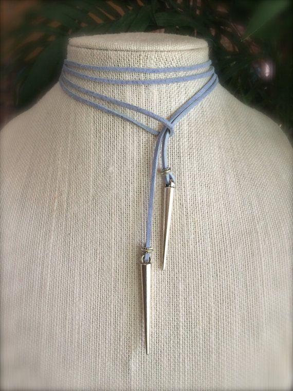 Collar gamuza