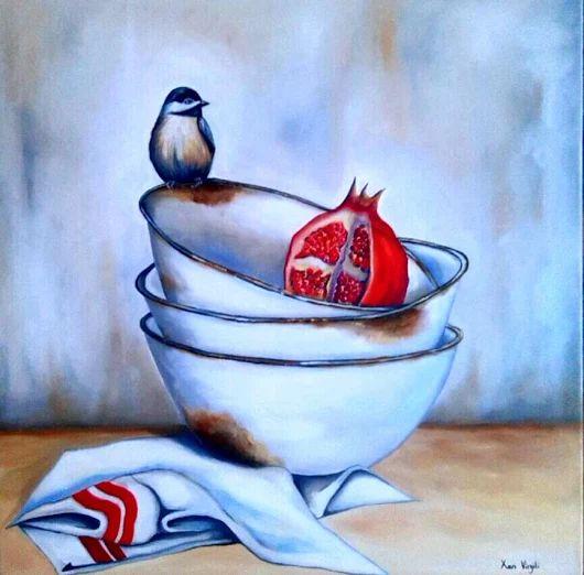 """""""RUSTIC HOPE"""" - Oil painting by XAN VIRGILI - ORIGINAL SOLD"""