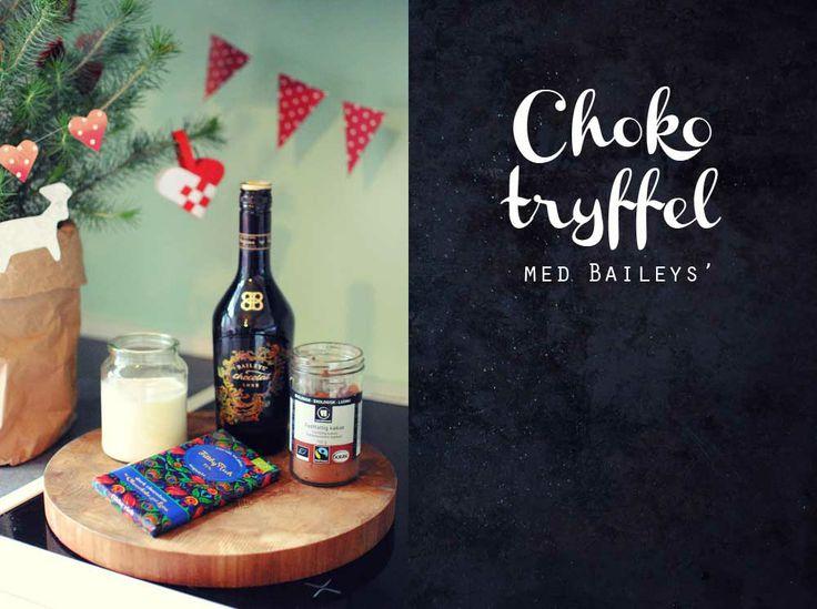 Frk. Kræsen: Choko-tryffel med Baileys'