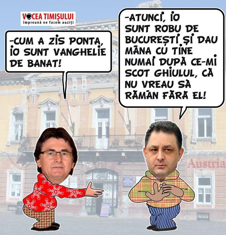 Victor Ponta: Domnul Robu, tot un fel de Vanghelie, dar din Banat.