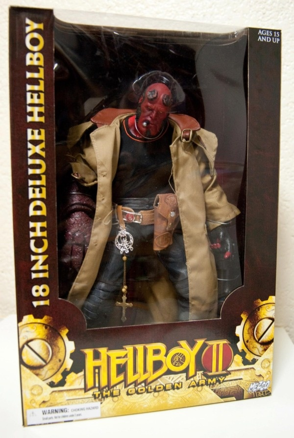 Mezco Hellboy II: The Golden Army 18 Deluxe Hellboy ...
