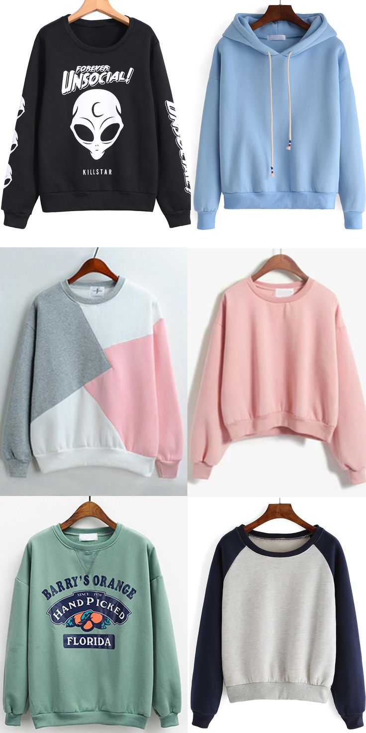 What kind of sweatshirt do you like most?Find it at romwe.com. Then sign up &give yous comments on it.Thanks!