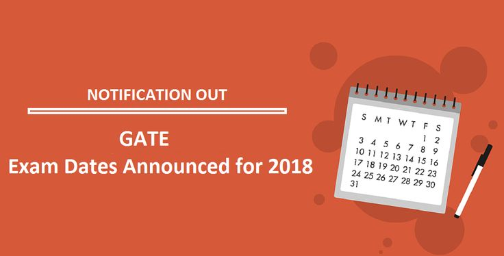 GATE 2017-2018 Exam Dates has been formally declared by the exam leading expert. Indian Institute of Technology, Roorkee is sorting out the GATE examination for the year 2018.