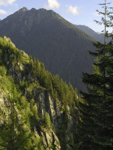 Fagaras Mountains, Transylvanian Alps, Romania