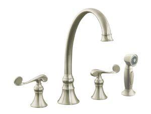 Kohler Revival Kitchen Faucet Brushed Nickel