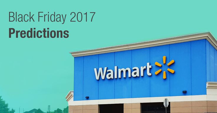 See our predictions for the best 4K TVs, laptops, iPads, and more electronic deals this year during the Walmart Black Friday 2017 sale!