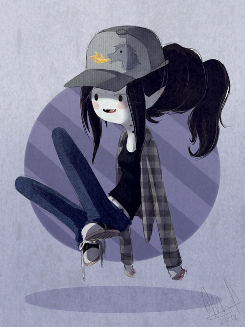 Autumn/Marceline by Wthe*