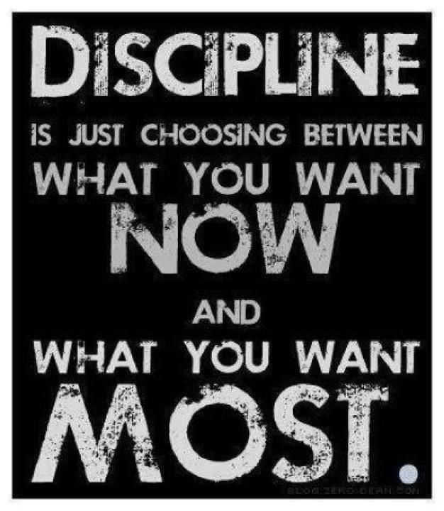 Come to think of it.. this can really be about anything that even requires discipline.