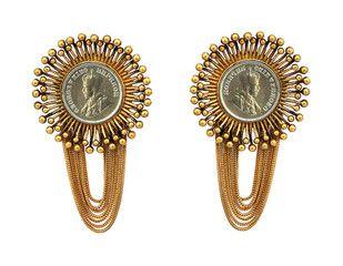 Mitti of Kutch Earring Artwork