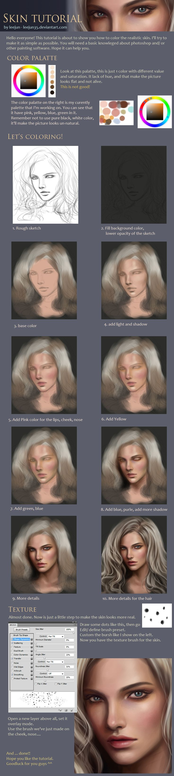 skin tutorial by leejun35 on deviantART