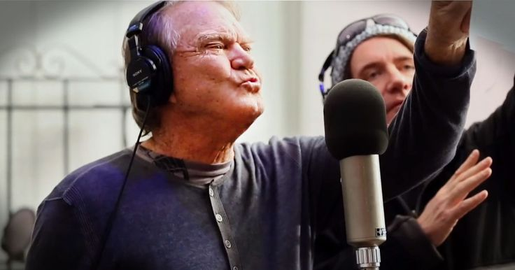 Country legend Glen Campbell has Alzheimer's and he knows his memory won't last forever. So before it leaves him he wrote this song called 'I'm Not Gonna Miss You'. And it highlights the painful truth of the disease in the most touching way.