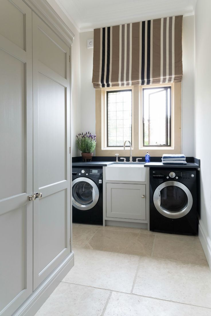 Bathroom and laundry room ideas - Laundry Room Luxury Bespoke Kitchen Project Ascot Berkshire Humphrey Munson