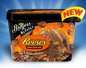 Breyers Reese's Cup Ice Cream...best ice cream ever...ever!!